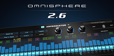 Omnisphere 2.6 Announced at NAMM 2019