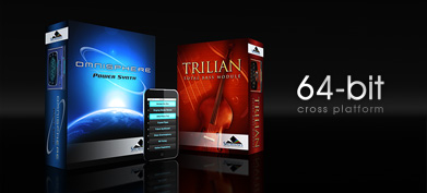 Full Cross Platform 64-Bit Support for Spectrasonics