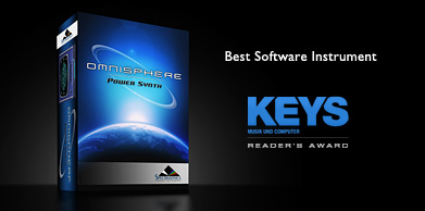 Omnisphere Wins KEYS Magazine Readers Poll Award