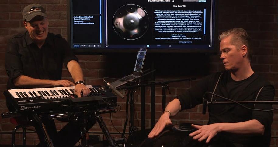 Omnisphere 2 - Hang Drum Jam