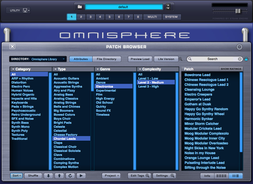 Spectrasonics - Products - Omnisphere - Audio Demos