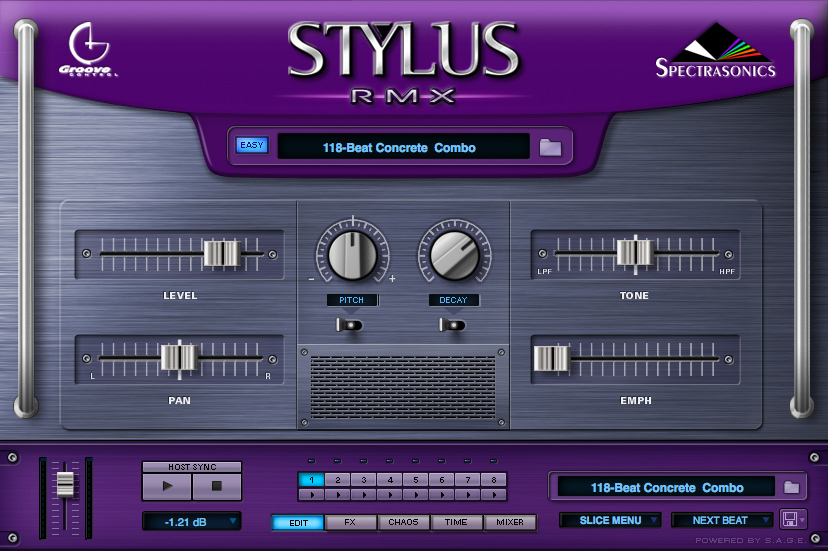 Spectrasonics - Products - Stylus RMX - Audio Demos