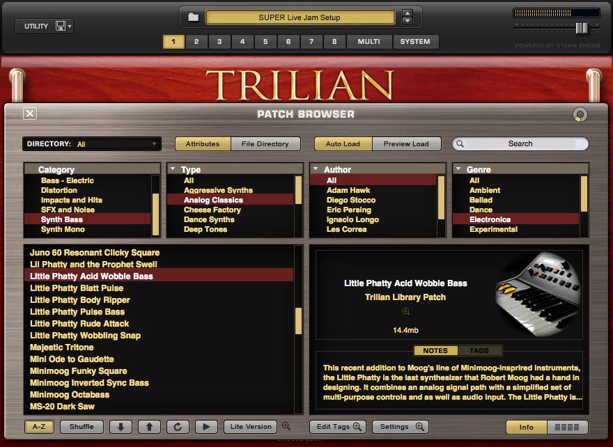 trillian 1 4 1d keygen mac