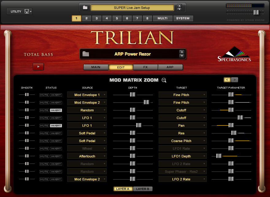 Spectrasonics - Products - Trilian - Audio Demos